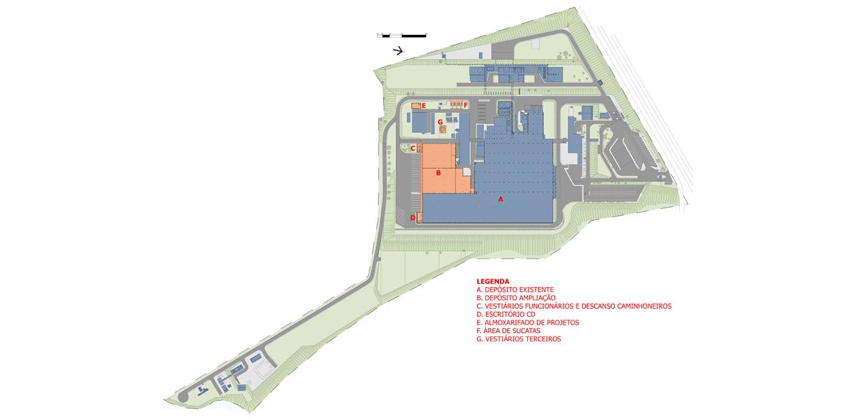 Centro de Distribuição – Unidade Fabril Unilever Indaiatuba